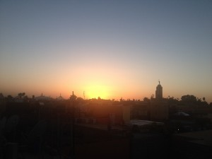 Moroccan sunsets...
