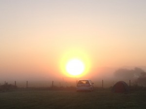 Sunrise on Anglesey